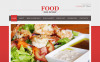 Food & Drink Moto CMS HTML Template New Screenshots BIG