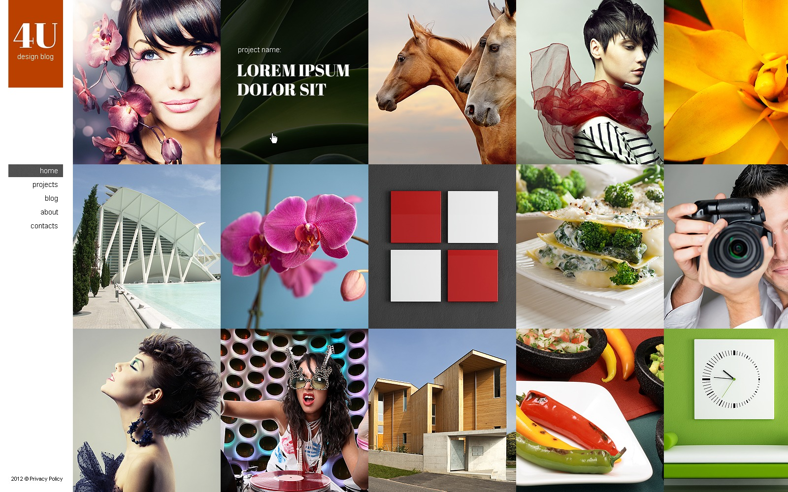 "WordPress Theme namens ""Design Studio"" #43003 - Screenshot"