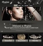 Jewelry Website  Template 43100