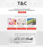 Furniture Website  Template 43103