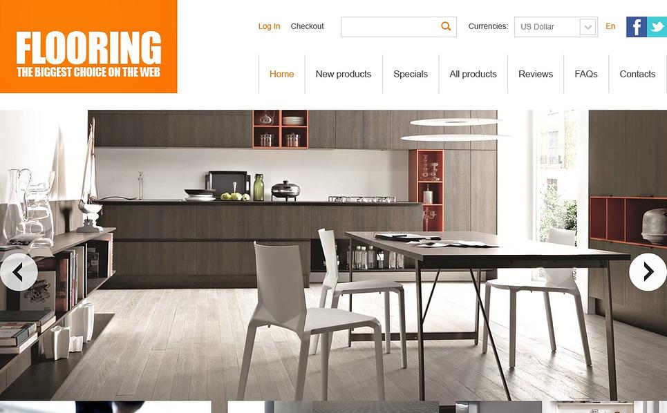 Tema ZenCart  #43110 per Un Sito di Pavimentazione New Screenshots BIG