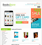 Books OpenCart  Template 43115