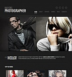 Art & Photography Moto CMS HTML  Template 43123