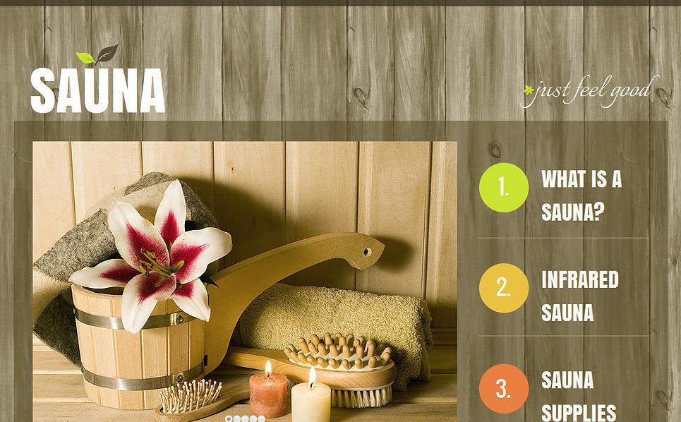 MotoCMS HTML шаблон №43134 на тему сауна New Screenshots BIG