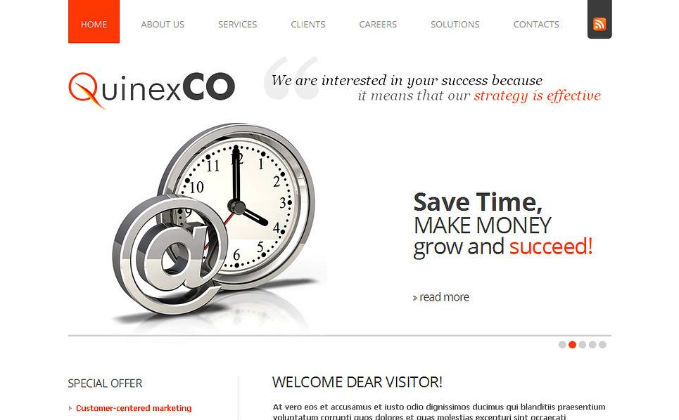 MotoCMS HTML шаблон №43137 на тему Шаблон сайтов финансового консультанта New Screenshots BIG