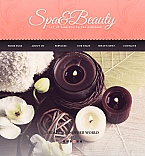 Beauty Facebook HTML CMS  Template 43140