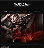 Art & Photography Facebook HTML CMS  Template 43145