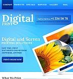 Art & Photography Facebook HTML CMS  Template 43151