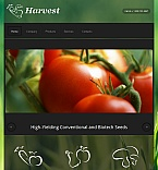 Agriculture Facebook HTML CMS  Template 43152