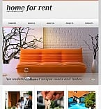 Real Estate Facebook HTML CMS  Template 43156