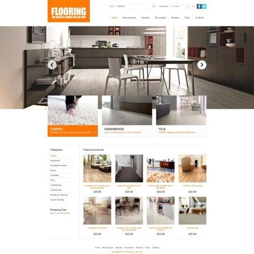 Flooring  - ZenCart Furniture Template