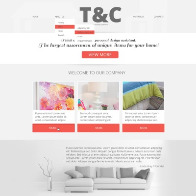 Professional Website Templates Templatemonster
