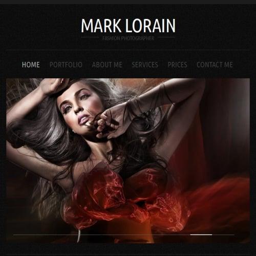 Mark Lorain - Facebook HTML CMS Template