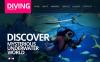 Tema Moto CMS HTML  #43122 per Un Sito di Diving New Screenshots BIG