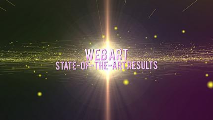 Заставка After Effects на тему веб дизайн №43101