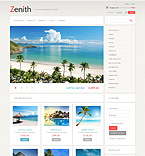 Travel VirtueMart  Template 43203