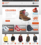 Fashion VirtueMart  Template 43204