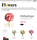 Flowers VirtueMart  Template 43205