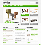 Furniture Website  Template 43210