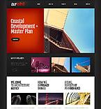 Architecture Website  Template 43211