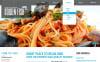 Responsivt Hemsidemall för fisk och skaldjursrestaurang New Screenshots BIG