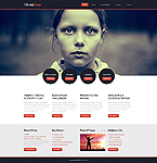 Charity Website  Template 43217