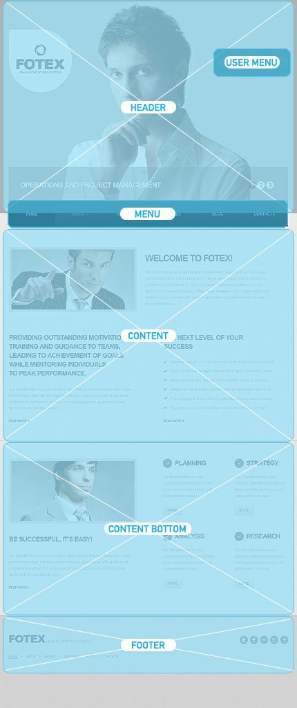 Drupal Template 43218 Main Page Screenshot