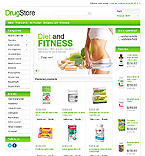 Medical OpenCart  Template 43220
