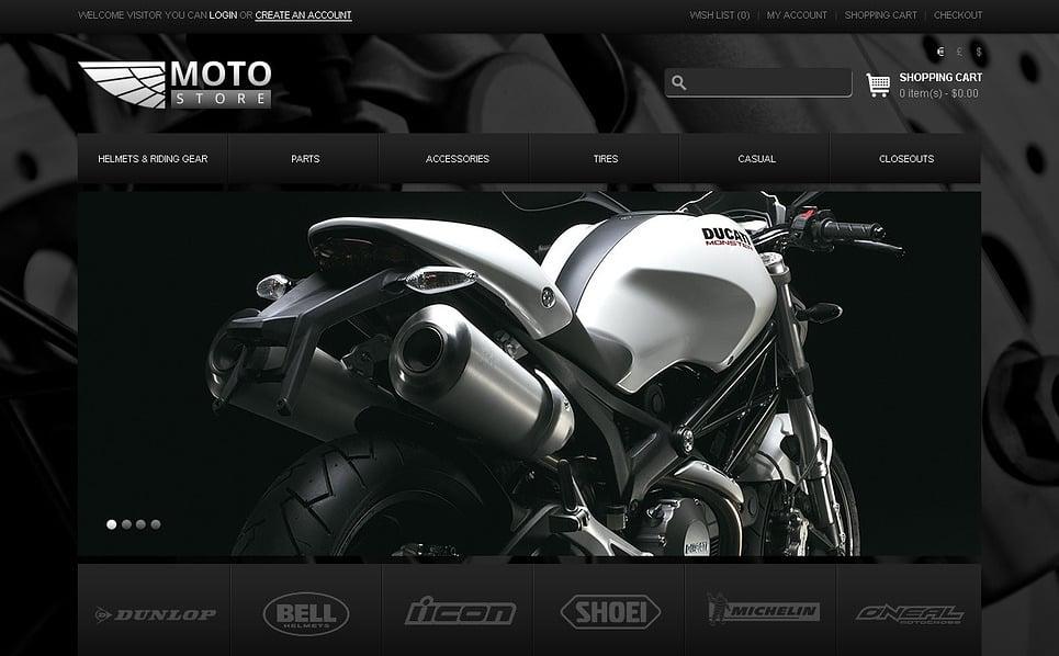 Modello OpenCart  #43223 per Un Sito di Negozio di Biciclettte New Screenshots BIG
