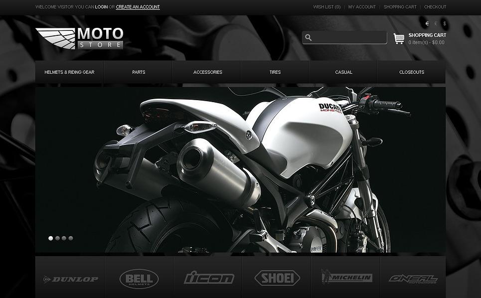 Szablon OpenCart #43223 na temat: sklep rowerowy New Screenshots BIG