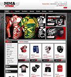 Sport osCommerce  Template 43227