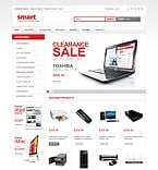 Electronics osCommerce  Template 43228