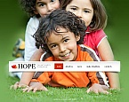 Charity Moto CMS HTML  Template 43242