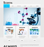 Science Moto CMS HTML  Template 43243