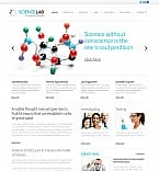 Science Moto CMS HTML  Template 43249