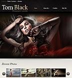 Art & Photography Facebook HTML CMS  Template 43250