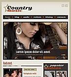 Music Facebook HTML CMS  Template 43251