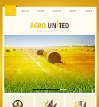 Agriculture Facebook HTML CMS  Template 43257