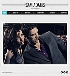 Art & Photography Facebook HTML CMS  Template 43260