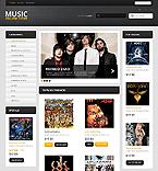 Music PrestaShop Template 43293