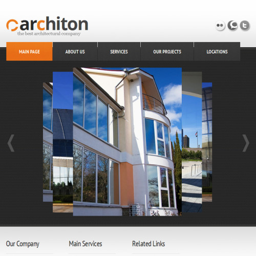 Carchiton - Facebook HTML CMS Template