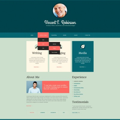 Personal Pages Drupal Themes
