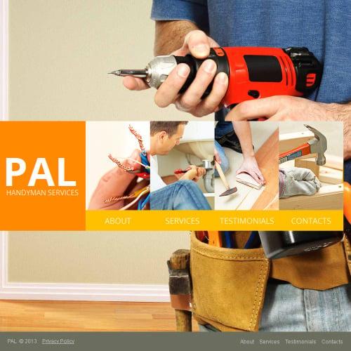 Pal - Facebook HTML CMS Template