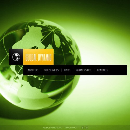 Global Dynamic - Facebook HTML CMS Template