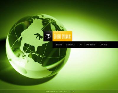Consulting Moto CMS HTML šablona