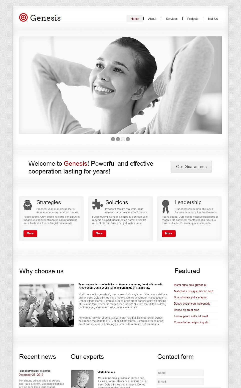 Management Company Moto CMS HTML Template New Screenshots BIG