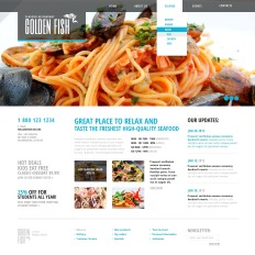 Seafood Restaurant Bootstrap Themes | TemplateMonster