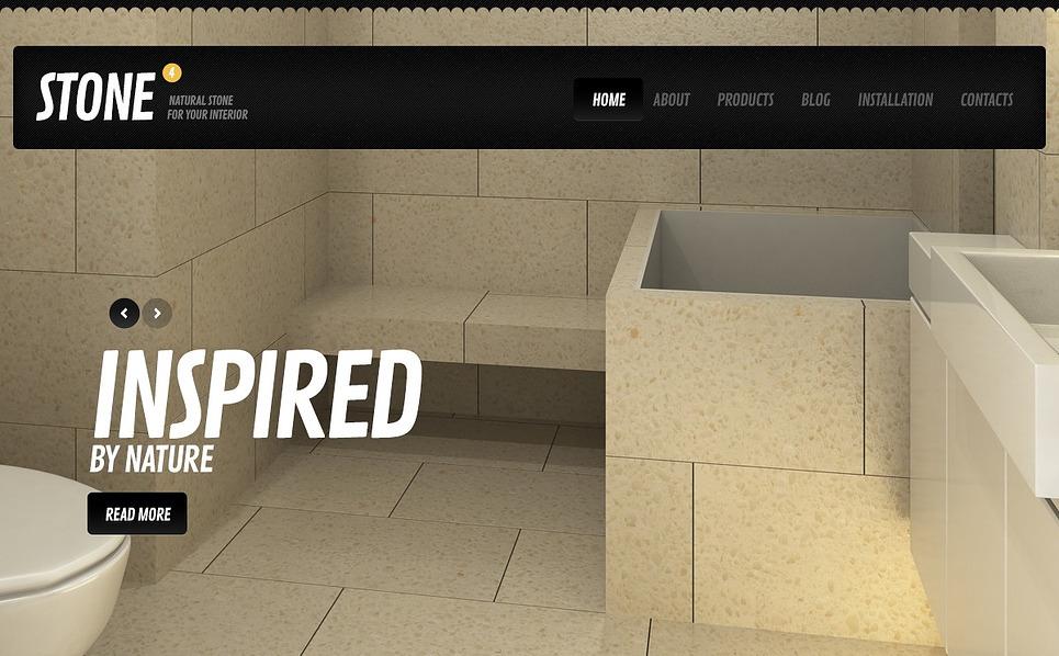 İç Dizayn  Drupal Şablonu New Screenshots BIG