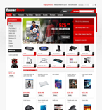 Games osCommerce  Template 43332