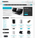 Computers osCommerce  Template 43333